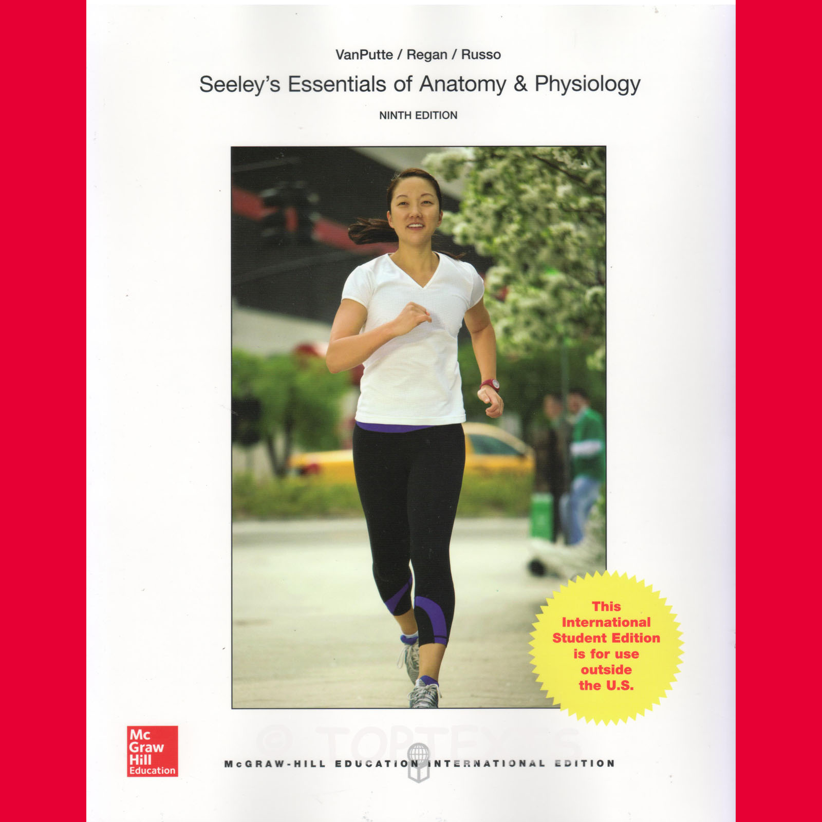 NEW! SEELEY\'S ESSENTIALS OF ANATOMY AND PHYSIOLOGY 9E, CINNAMON ...